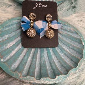 J.Crew bow earrings
